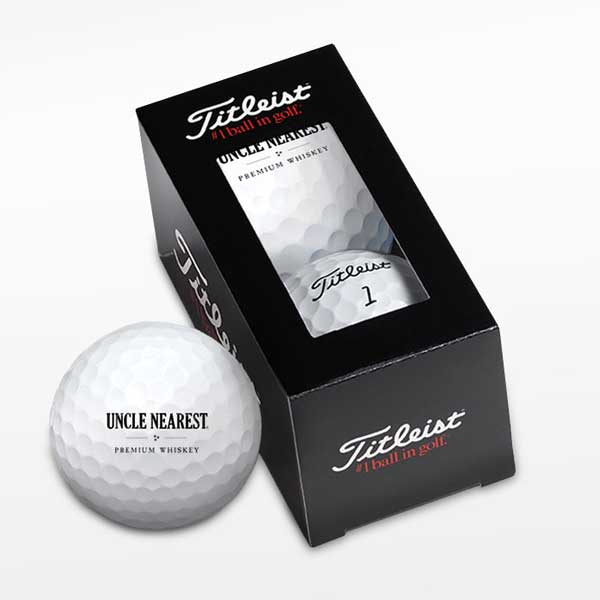 Golf Balls with Uncle Nearest Logo