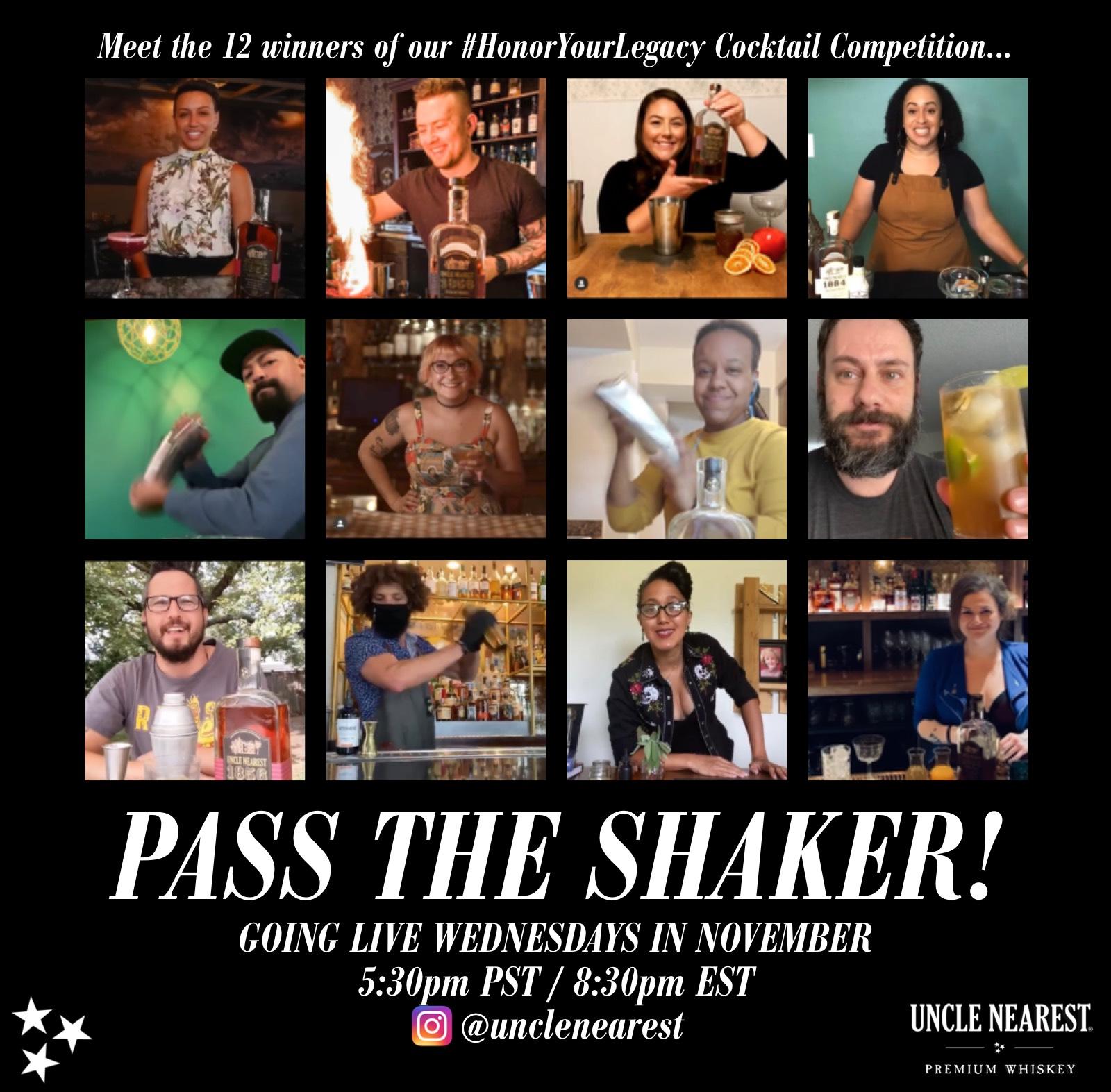 Pass The Shaker Winners Circle